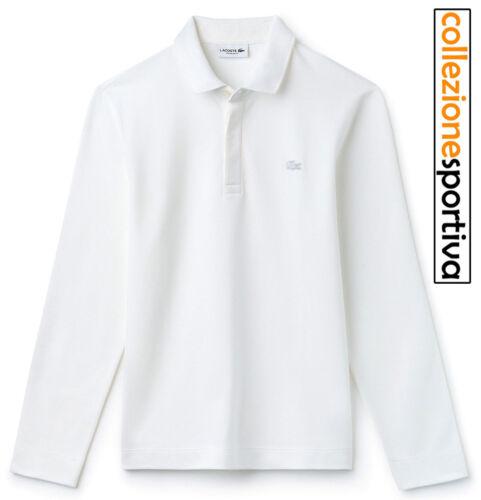 00 Lacoste Col Polo Piquè Manica Petit Lunga ph9435 Cod Fit bianco Regular 001 ZwRdwzq