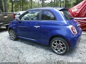 2012 Fiat 500 Lady owner