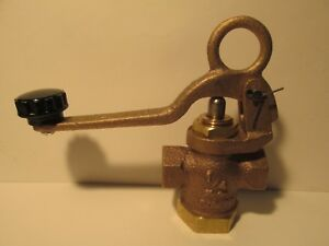 Details about Live Steam ¼ NPT [Yoke & Loop-Style] Large Heavy Duty Whistle  Valve - New Part