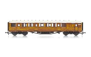 Hornby-R4826-OO-Gauge-LNER-61-039-6-034-Gresley-Corr-Brake-Coach-32557
