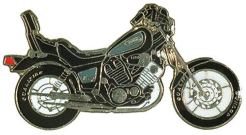 Pin YAMAHA Virago XV 1100 schwarz Anstecker