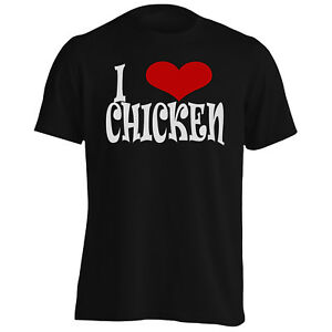I-love-Chicken-Novelty-Men-039-s-T-Shirt-Tank-Top-q84m