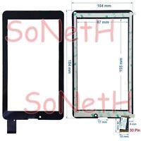 "Vetro Touch screen Digitizer 7,0"" Mediacom SmartPad S2 3G M-MP7S2B3G Tablet Nero"