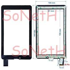 """Vetro Touch screen 7,0"""" Compatibile per INNO HIT GOLEM IHG-782 3G Tablet PC Nero"""