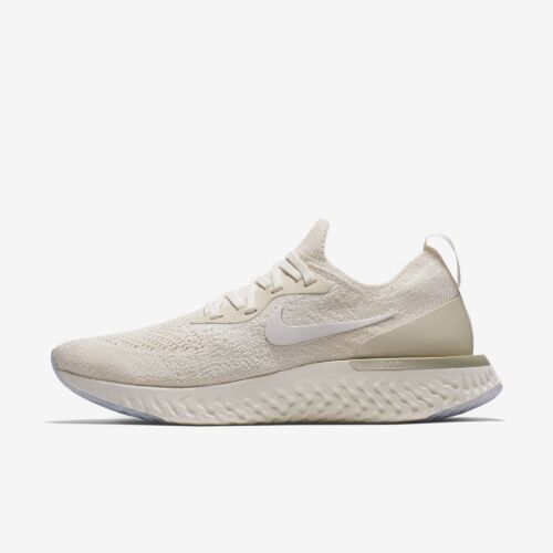 Epic 9 Zapatillas crema Tama de 5 o blanco running 201 color Nike Flyknit para mujer Aq0070 React pHOHtwq