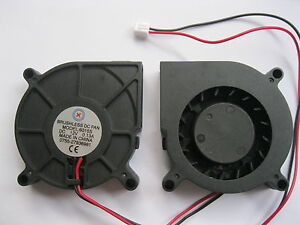 2-pcs-Brushless-DC-Cooling-Blower-Fan-6015S-12V-60x15mm-2-Wires