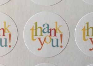 Thank-You-In-Colors-ENVELOPE-SEALS-LABELS-STICKERS-Celebrations-Business