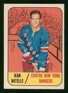 JEAN-RATELLE-1967-68-TOPPS-67-68-NO-31-EX-45355