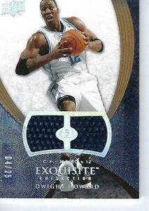 DWIGHT-HOWARD-2008-EXQUISITE-DUAL-PATCHES-d-25-SUPER-RARE-JERSEY-ORLANDO-MAGIC