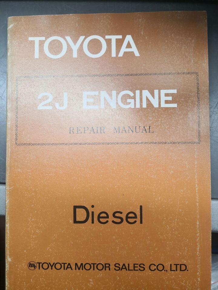 (33)Værkstedsbog, Toyota 2J motorbog
