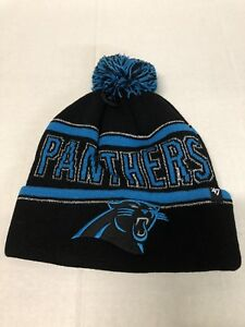 9f1db9a12 NFL CAROLINA PANTHERS BRAND 47 WOMEN S ELLIE KNIT HAT WITH CUFF AND ...