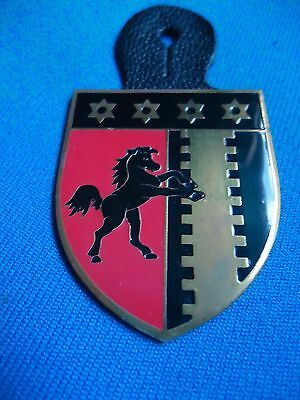 PORTUGAL PORTUGUESE MILITARY ARMY HORSE CAVALRY BREAST BADGE