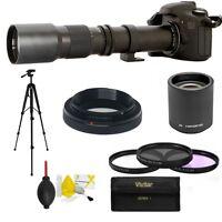 500mm 1000mm Telephoto Zoom Lens For Pentax K100 Fits All Pentax Dslr Models
