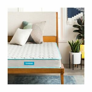 Linenspa 6 Inch Traditional Innerspring Mattress-in-a-Box ...
