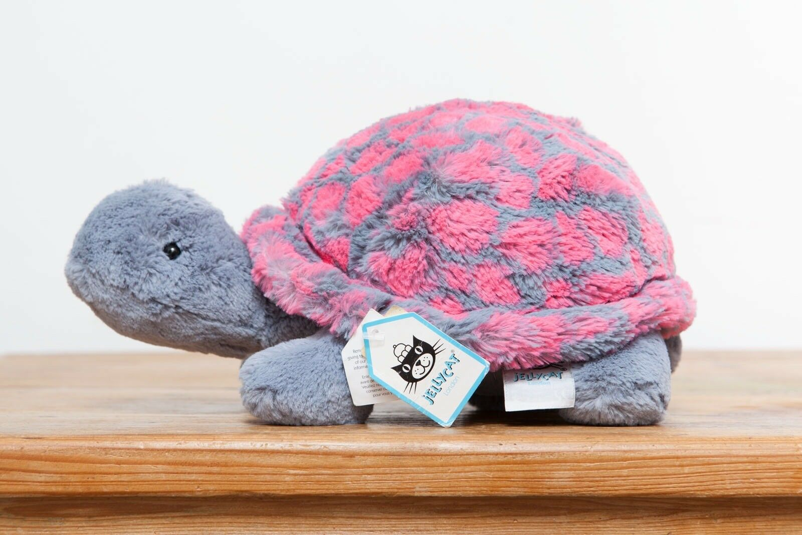 Jellycat Tootle Turtle (Pink And Grey)