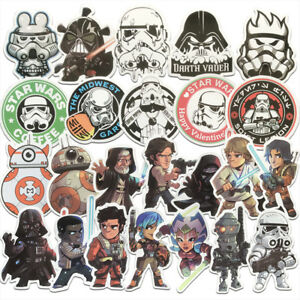 100Pcs-Set-Star-Wars-Chico-Hazlo-tu-mismo-Graffiti-Adhesivo-Para-Patineta-computadora-PS4-Laptop