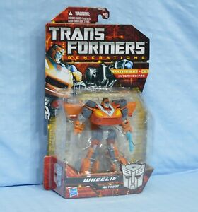 Transformers WHEELIE Generations GDO Deluxe MOSC sealed 1986 Movie character