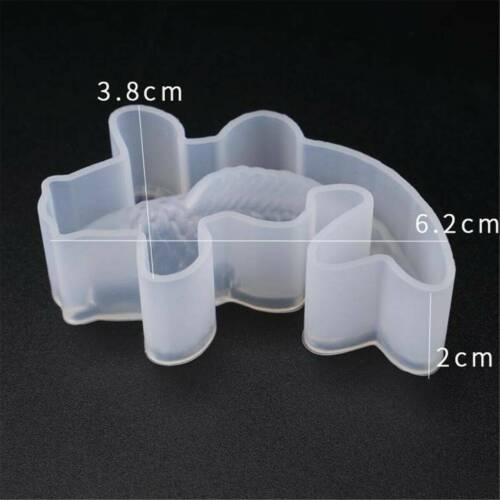 3D Koi Fish Pendant Transparent Silicone Mold Resin Epoxy Mould-DIY Toy Craft*1.
