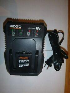 New-Ridgid-R86092-18V-18-Volt-Dual-Chemistry-Lithium-Ion-Battery-Charger-Li-ion