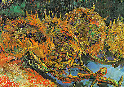 Karte Blühende Rosenbüsche Vincent van Gogh