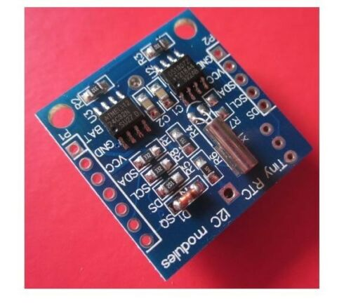 2PCS Arduino I2C RTC DS1307 AT24C32 Real Time Clock Module For AVR ARM PIC