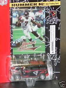 NFL-Atlanta-Falcons-Die-Cast-Hummer-amp-Michael-Vick-Collectible-Card-NEW