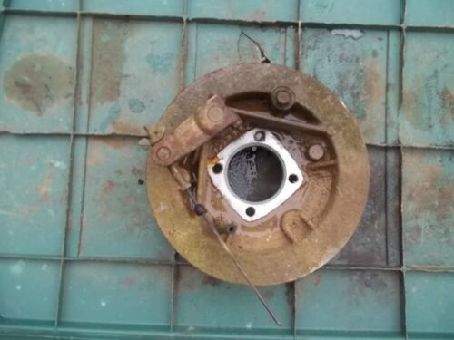 1996 KAWASAKI BAYOU 220 REAR BRAKE DRUM BACKING PLATE