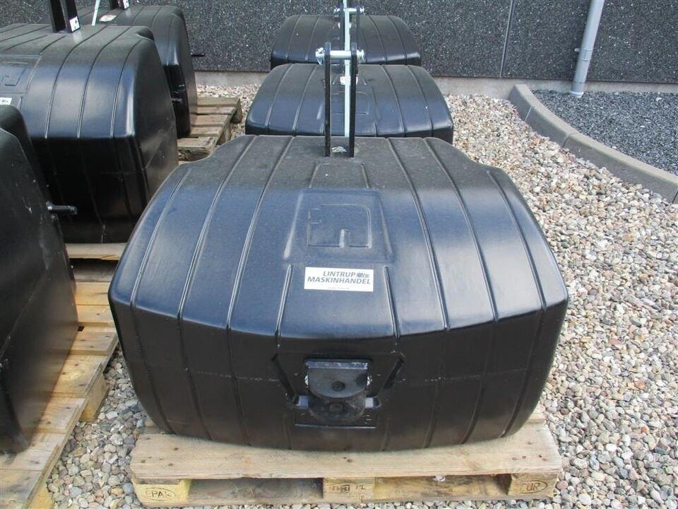 Vægtklodser, 1100 KG