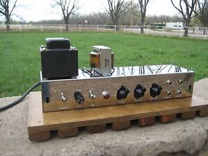 Tweed-Deluxe-5E3-Working-Chassis-Carl-039-s-Custom-Amps-Video-Demo