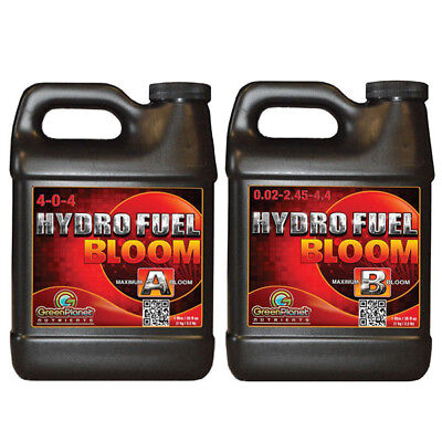 Green Planet Hydro Fuel Bloom A & B Flowering Formulation ...