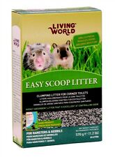 Living World EASY SCOOP LITTER Small Animals Hamster Gerbil 1.2 lb