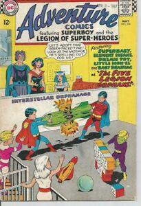 Adventure Comics: Superboy & Legion of Super-Heroes: 5 Legion Orphans #356
