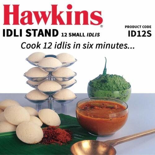 3 Ltr Hawkins Mini Idli Maker Aluminium 4 Makes 12 Idlis Piece Stand Stand