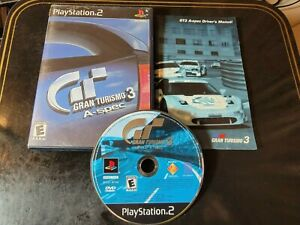 Gran Turismo 3 A-spec Video Game (PlayStation 2, 2006) *BUY 2 GET 1 FREE*