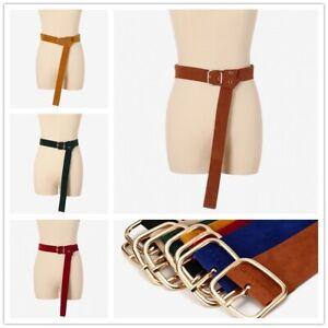 ladies waist strap belts faux suede waistband corset dress
