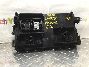 2010 CAMARO SS Engine Compartment Fuse Box 6.2L Manual ...