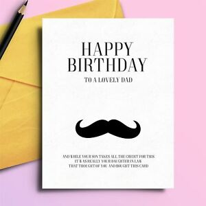 Image Is Loading Rude Birthday Card Cheeky Insulting For Father In