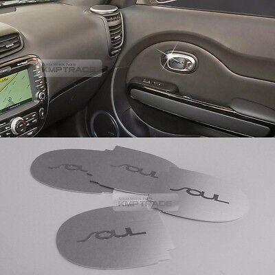 Interior Metal Hairline Molding Dashboard Point Garnish For Kia 2010-2013 SOUL