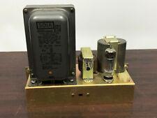 Nos Power Supply 6x4 Tube Sola Constant Voltage Transformer Cat No 7104