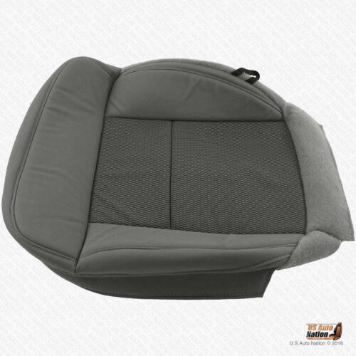 2004-2006 Ford F150 XLT Driver Bottom Replacement Flint Gray Cloth Seat Cover