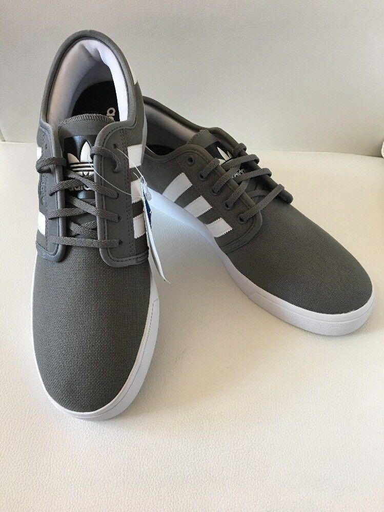 new style 5b571 000be Adidas Adidas Adidas Men s Seeley Gray White Skateboarding Shoes Size 11.5  81b86e