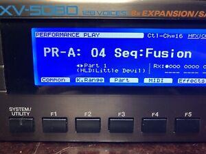 Roland XV-5080 BRAND NEW LED Screen Display!! XV5080 !! LOW PRICE!!!next 3days