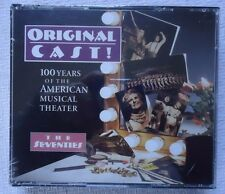Original Cast! 100 Years of the American Musical Theater The Seventies NEW