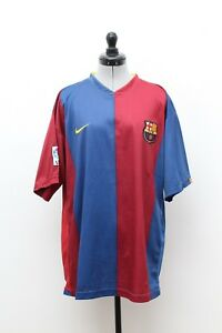 Maillot-Football-Collection-Vintage-2006-2007-FC-BARCELONE-Taille-XL