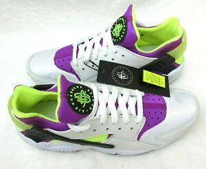 Nike Hombres Zapatos'91 Qs Huarache Run Air Blanco Negro