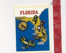 Vintage water decal Florida  Baxter Lane Co. FREE SHIPPING