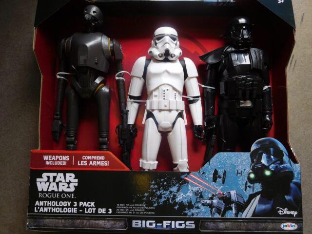 Film- & TV-Spielzeug Star Wars Rogue One Actionfigur Stormtrooper Big Size 45cm NEU