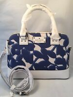 Kate Spade Wellesley Leaves Fabric Small Rachelle Hycnleaves
