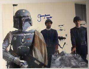 Star-Wars-JEREMY-BULLOCH-Signed-Autograph-11-X-14-BOBA-FETT-PROOF-Beckett-COA