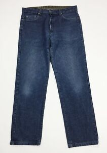 Chinook-jeans-uomo-usato-vintage-W34-tg-48-denim-gamba-dritta-boyfriend-T4377